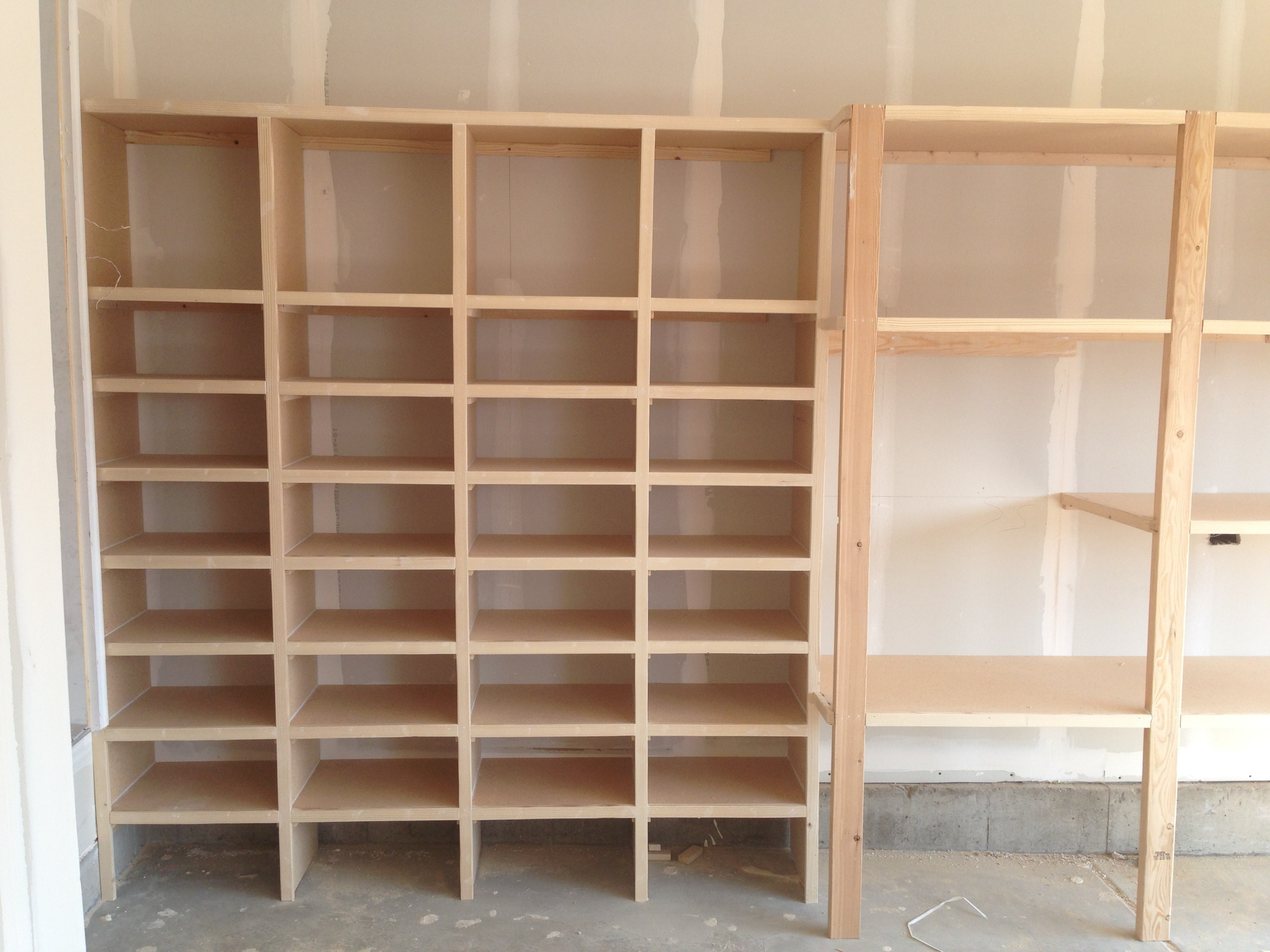 projects cubby ana shelf diy white organizer shoe