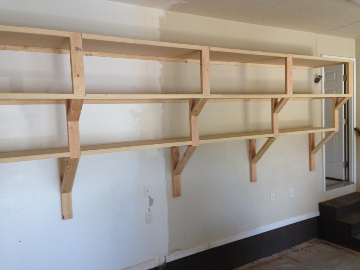 Adjustable Garage Shelving